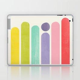 Rainbow Color Stripes Laptop & iPad Skin