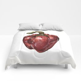 Red Bell Pepper Comforters