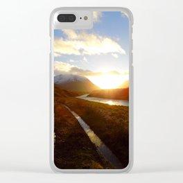 Glen Etive Clear iPhone Case