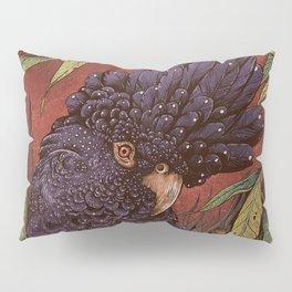 Black Cockatoo Pillow Sham