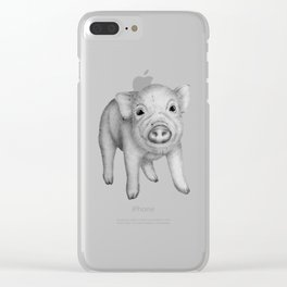 This Little Piggy Clear iPhone Case