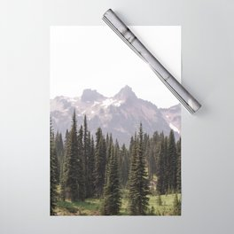 Mountain Wilderness - Nature Photography Wrapping Paper