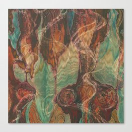 Ecstatic Pelvis (Meat Flame) Canvas Print