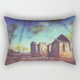 The ruin of St Marys Rectangular Pillow