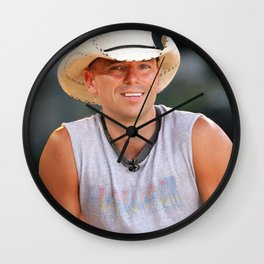 kenny chesney Wall Clock