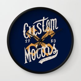 Custom Motors Wall Clock