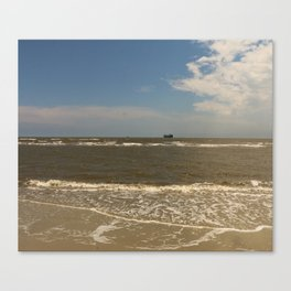 St Simons Island Beach Canvas Print