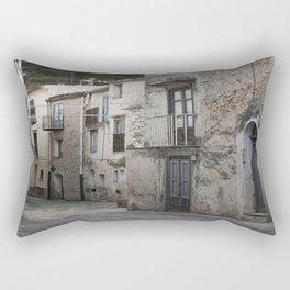 Sicilian Alley in Caltabellotta Rectangular Pillow