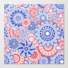 Celebration Mandala Canvas Print