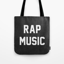 Rap Music Tote Bag