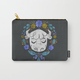 Midwest Bison - Vintage Flora Series Carry-All Pouch