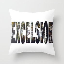Excelsior - The Raven Cycle Throw Pillow