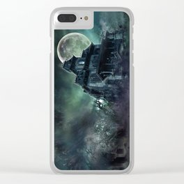 The Haunted House Clear iPhone Case