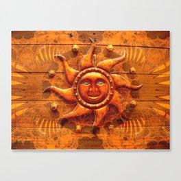 Western Blaze Canvas Print