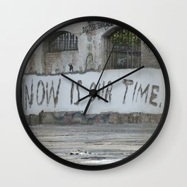 Now is our time Wall Clock