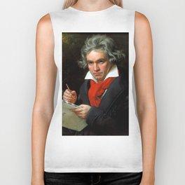 Ludwig van Beethoven (1770-1827) by Joseph Karl Stieler, 1820 Biker Tank