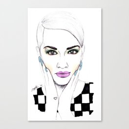 Beauty Portrait 7 Canvas Print