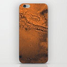 Valles Marineris, Mars iPhone Skin