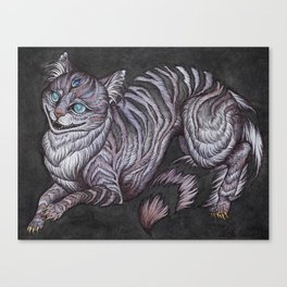 the Cheshire Cat art print Canvas Print