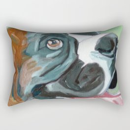 Boudreaux the Boxer Rectangular Pillow
