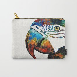 Parrot Head Art By Sharon Cummings Carry-All Pouch