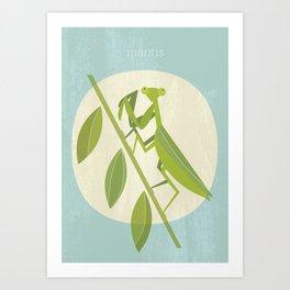 Mantis Art Print