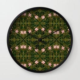 Briar Rose Wall Clock