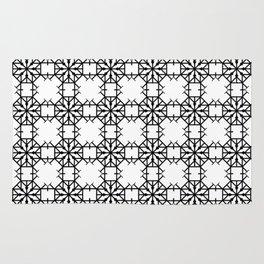 Geometric Roundhouse Pattern Rug
