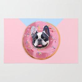 French Bulldog Donut Rug