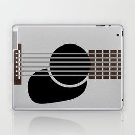 Minimalist Guitar Laptop & iPad Skin