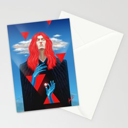 His rebel heart... Stationery Cards