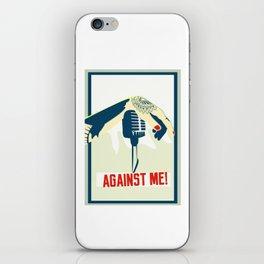 Against me! fan art iPhone Skin