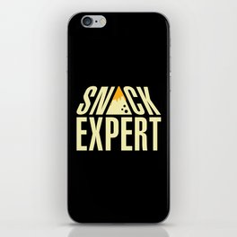 SNACK EXPERT iPhone Skin