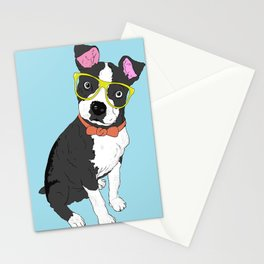 Hipster Pooch Stationery Cards