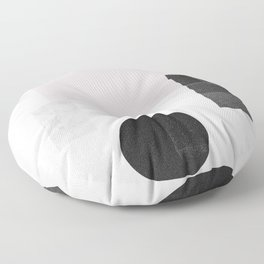 Black ball Floor Pillow