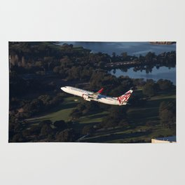 Virgin Australia 737 Rug