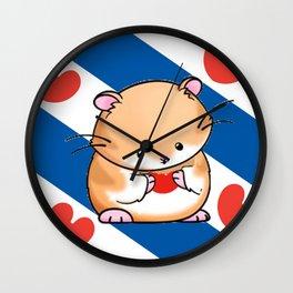friese vlag Wall Clock