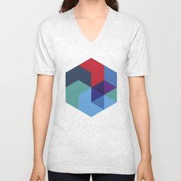 Tessellation Unisex V-Neck