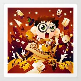 Alice in Wonderland- The King of Hearts Art Print