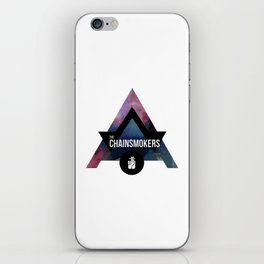 the chainsmokers iPhone Skin