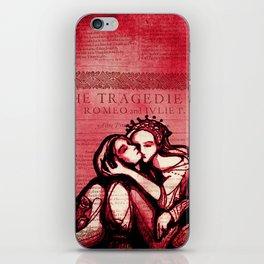 Romeo & Juliet - Shakespeare Folio Illustration Art iPhone Skin