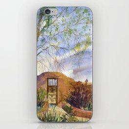 A Southwestern Gate iPhone Skin