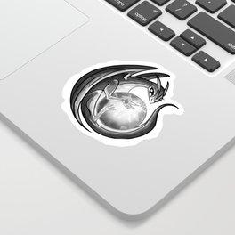 Scrying Dragon Sticker