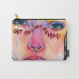 Get out  of my head Carry-All Pouch