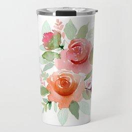 Soft flowers Travel Mug