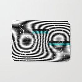 Striposcopy Bath Mat