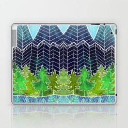 Magical Mountain Forest Laptop & iPad Skin