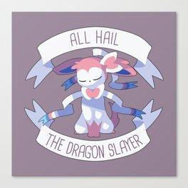 All Hail Sylveon V2 Canvas Print