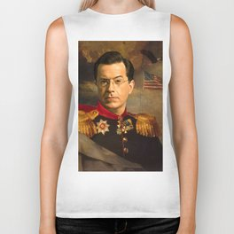 Stephen Colbert 19th Century Classical Painting Biker Tank