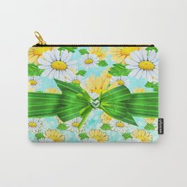 Just Daisies Carry-All Pouch